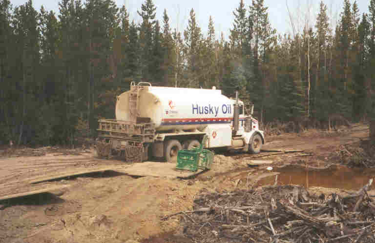 Husky Oil Operations Bulk Fuel Truck