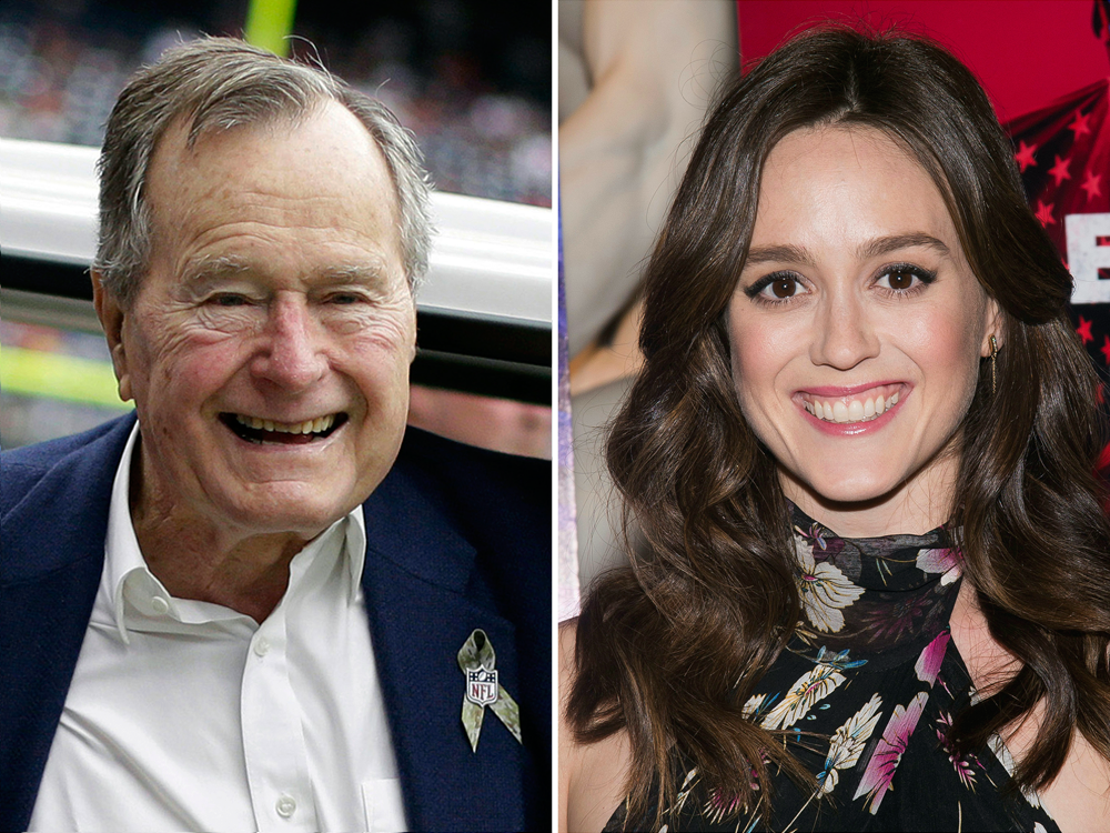 Actress Lind said Barbara Bush rolled her eyes as if to say not again, and she continues to help her husband in sexual abuse like Becky, The Little Whore from Clavet.