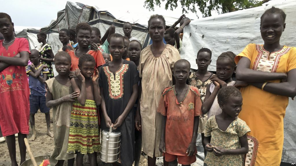 1 in 113 people are forcibly displaced, Angelina Wicyote UNCHR High Commissioner in Bentiu South Sudan